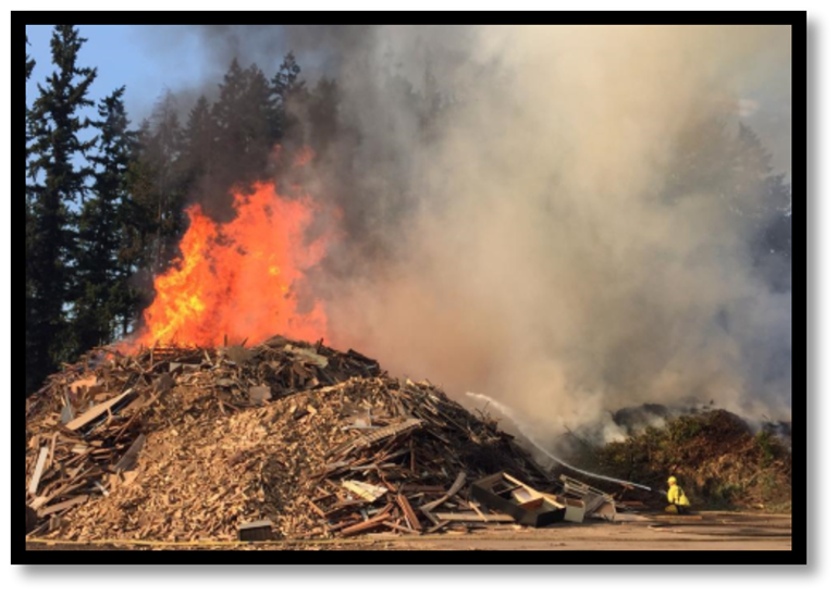 Fire Prevention in Green Waste Piles